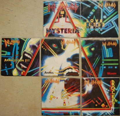 Hysteria singles collection