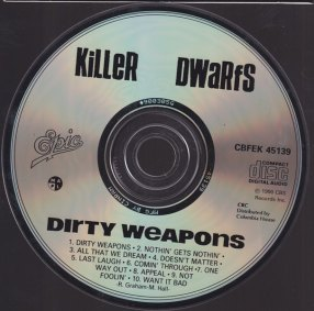 KILLER DWARFS CD
