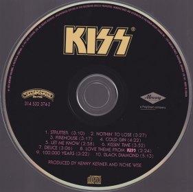 KISS CD