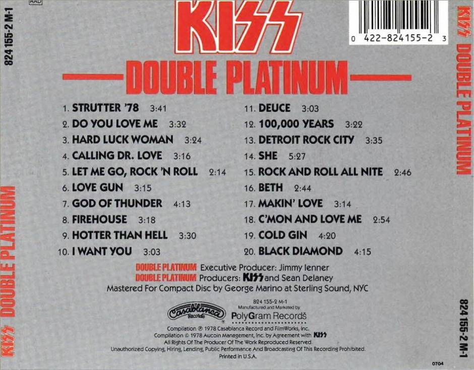 first kiss platinum lp double usd edition colombia