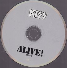 KISS ALIVE CD