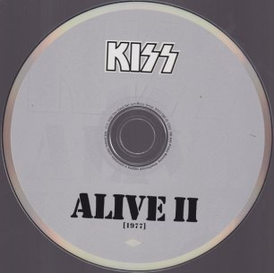 KISS ALIVE II CD