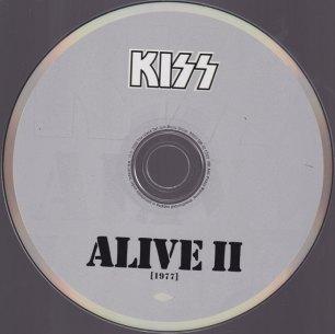 KISS ALIVE II CD