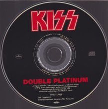 KISS DOUBLE JAPANESE CD