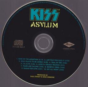 ASYLUM CD