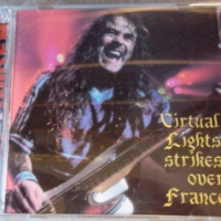 REVIEW:  Iron Maiden - Virtual Lights Strikes Over France (1998, bootleg CD)