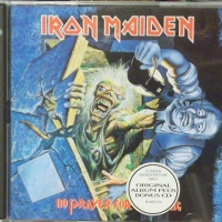 REVIEW:  Iron Maiden - No Prayer For the Dying (1990, 1996 bonus disc)