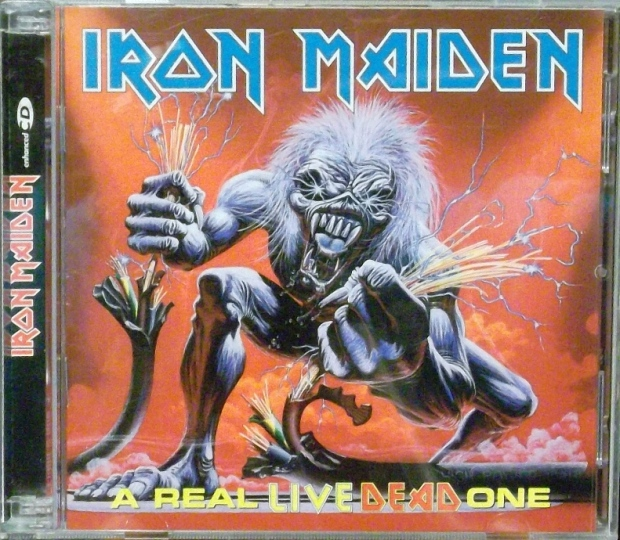 REVIEW: Iron Maiden – A Real Dead One (1993, plus single ...