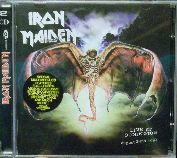b1823421ea REVIEW  Iron Maiden – Live At Donington August 22nd 1992 ...