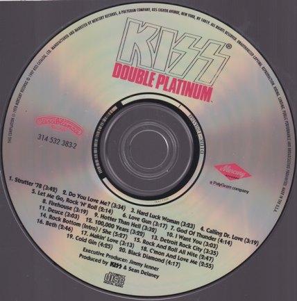 KISS FOIL CD