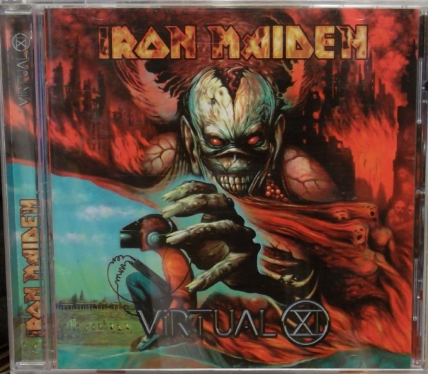 a835f009cc REVIEW  Iron Maiden – Virtual XI (plus singles