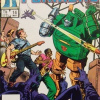 "COMIC REVIEW:  Transformers #14 w/ Bruce Springsteen / ""Brick Springstern"""