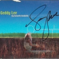 REVIEW:  Geddy Lee - My Favourite Headache (autographed)