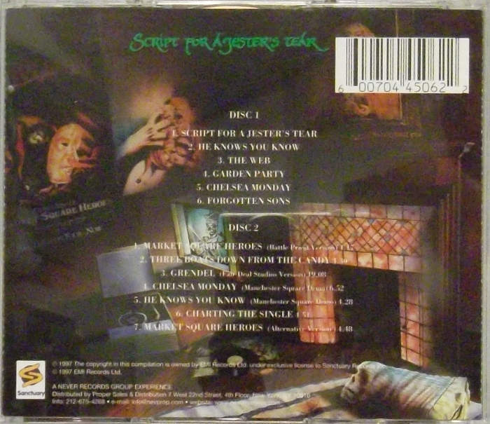 2d08c9f676c REVIEW  Marillion – Script For a Jester s Tear (2 CD remaster ...