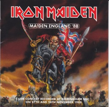 MAIDEN ENGLAND FRONT