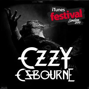 OZZY ITUNES FESTIVAL FRONT