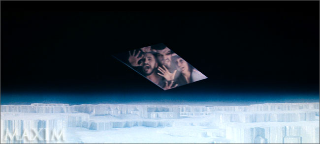 Zod, Ursa, and Whatever The Hell His Name Is in The Phantom Zone