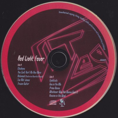 RED LIGHT CD
