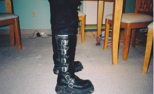 Sarge's boots