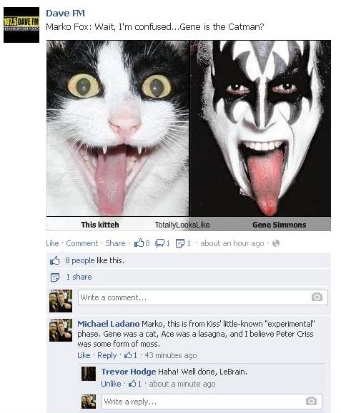 GENE CAT SIMMONS