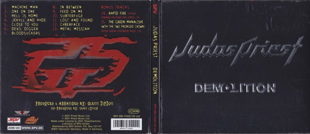 Digipack version of Demolition