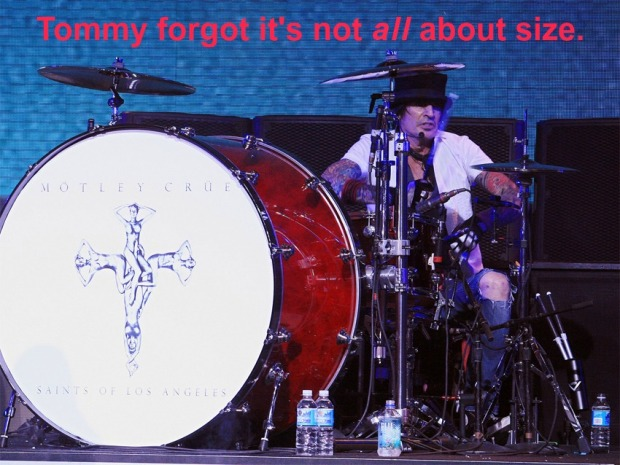 TOMMY LEE BIG BASS DRUM