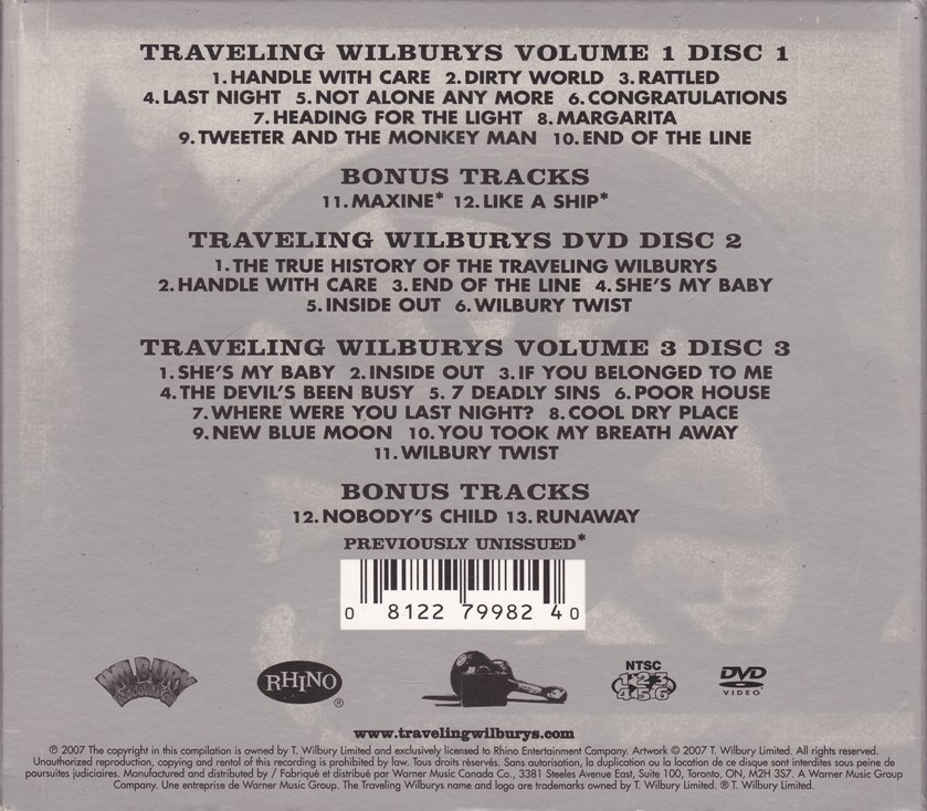 Review The Traveling Wilburys Collection Bonus 12 And