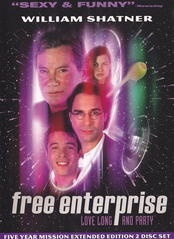 DVD REVIEW:  Free Enterprise(1999)