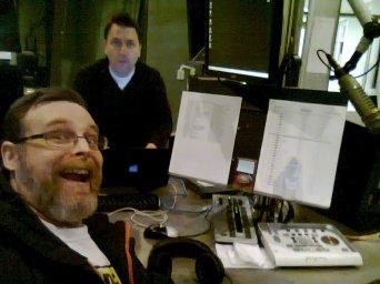 Craig & I at the Dave FM studios