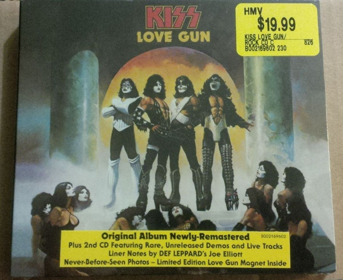 REVIEW:  KISS - Love Gun (2014 Deluxe Edition)