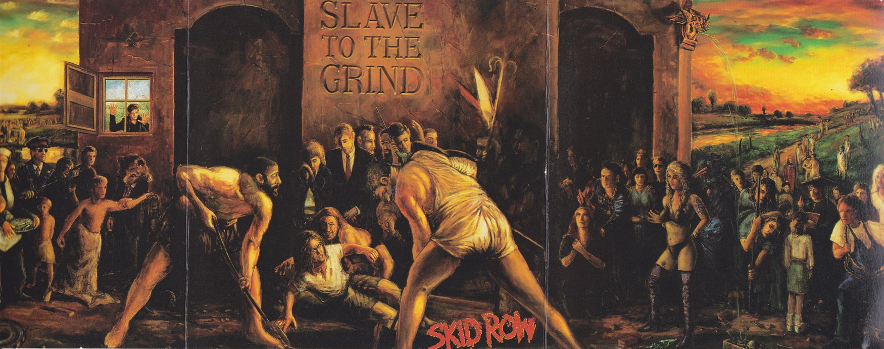 cd skid row slave to the grind