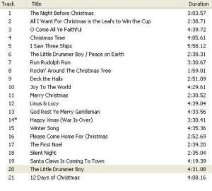 Christmas CD 2012