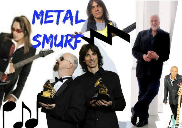 metal smurf