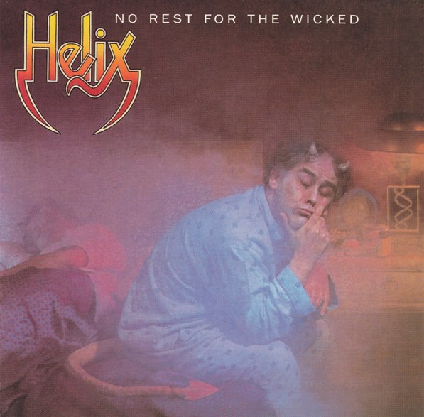 REVIEW: Helix – No Rest For the Wicked (1983)