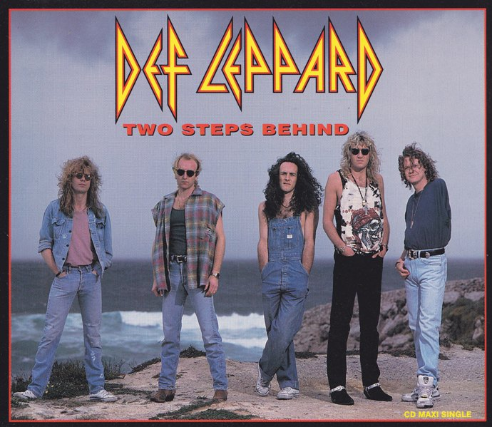 """REVIEW:  Def Leppard – """"Two Steps Behind"""" (1993 CDsingle)"""