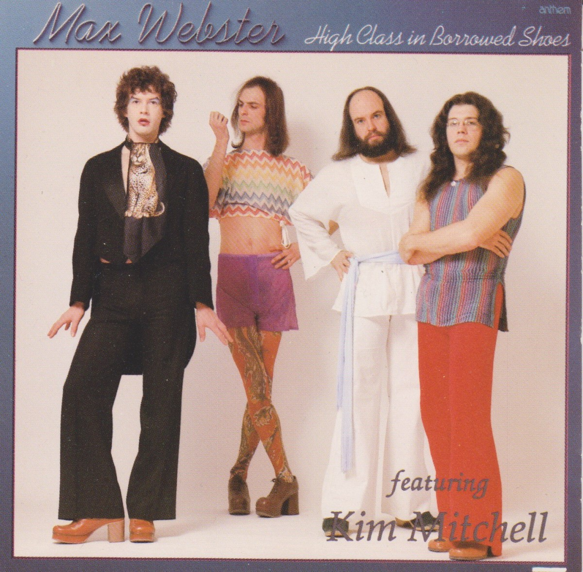 REVIEW:  Max Webster - High Class in Borrowed Shoes (1977)