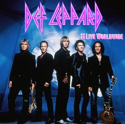 REVIEW: Def Leppard – Official 11 track live mp3 collection(2000-2001)