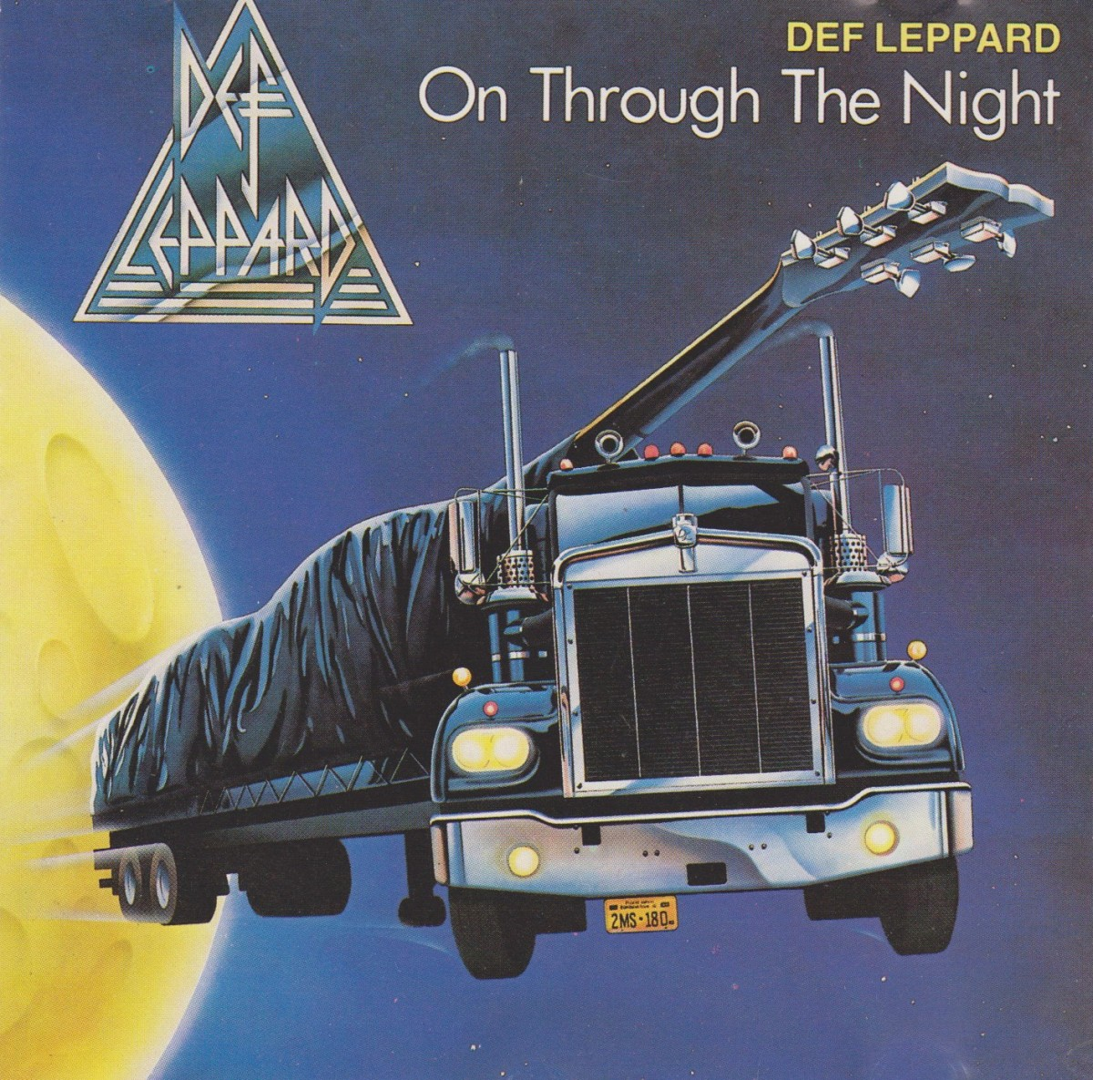 REVIEW:  Def Leppard - On Through the Night (1980)