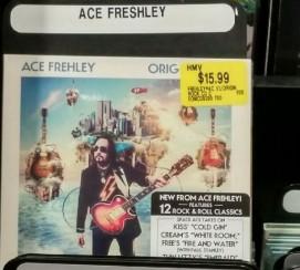 """""""ACE FRESHLEY"""" at HMV"""