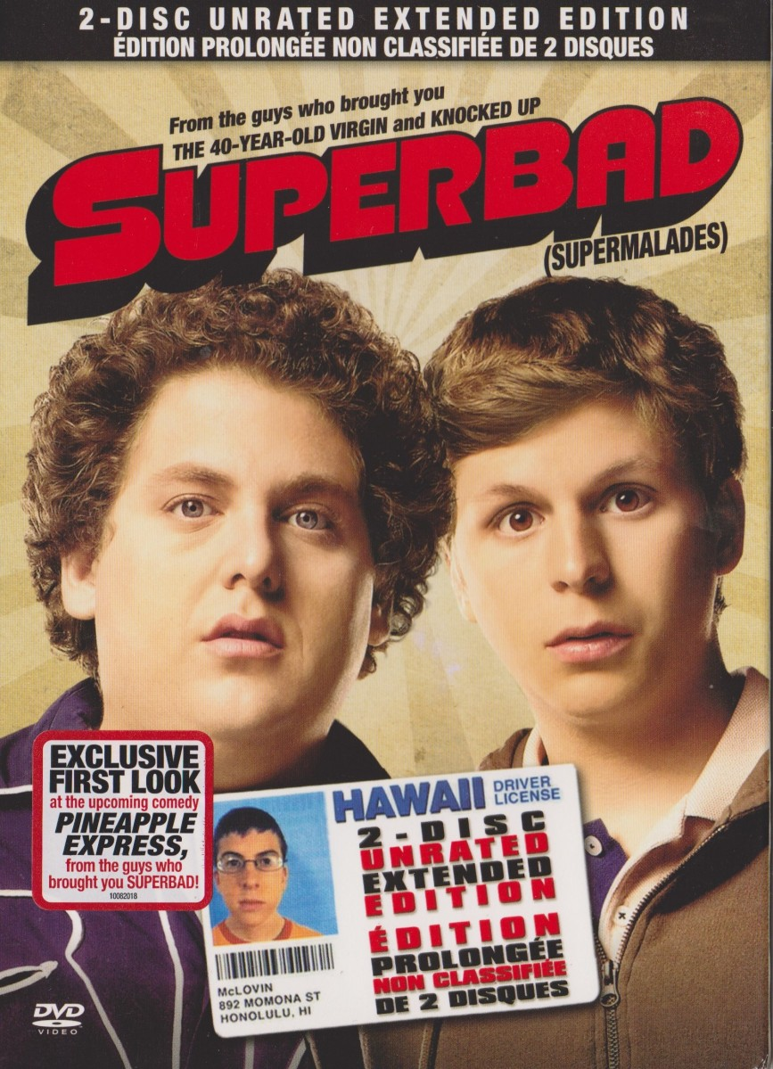 Dvd Review Superbad 2007 Mikeladano Com