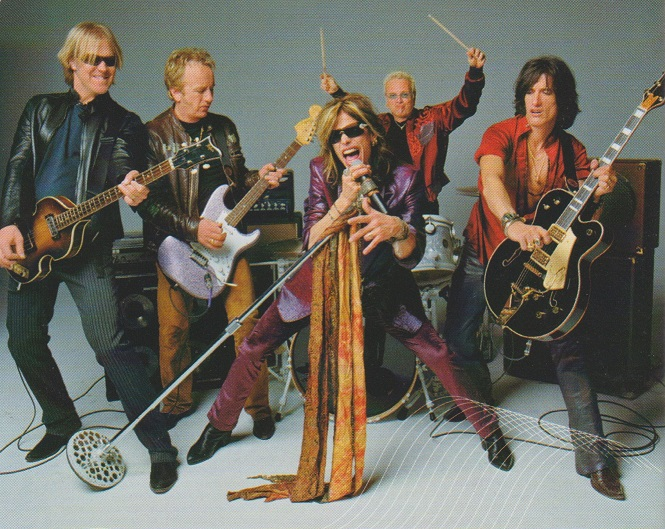 REVIEW:  Aerosmith – Just Push Play (2001 import version with bonustrack)