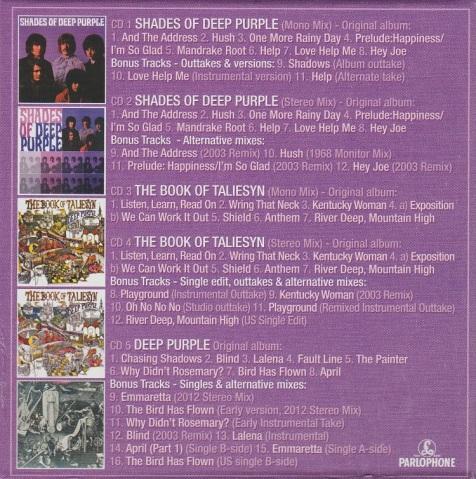 Review Deep Purple Hard Road The Mark I Studio Recordings 1968 69 5 Cd Box Set Mikeladano Com,Subway Tile Backsplash Pictures