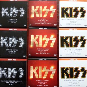 KISS THE RITZ ALL BONUS KISSOLOGY DVDS
