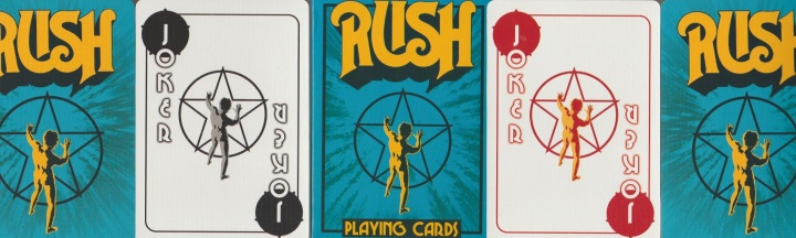 VIDEO REVIEW:  Rush playingcards