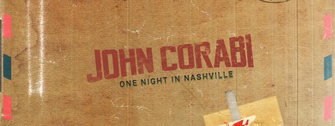 REVIEW:  John Corabi – One Night in Nashville(2018)
