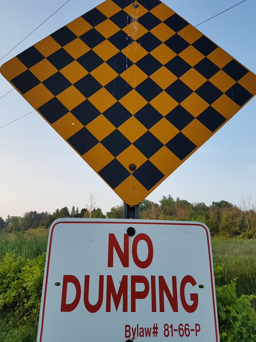Sunday Chuckle:  No Dumping