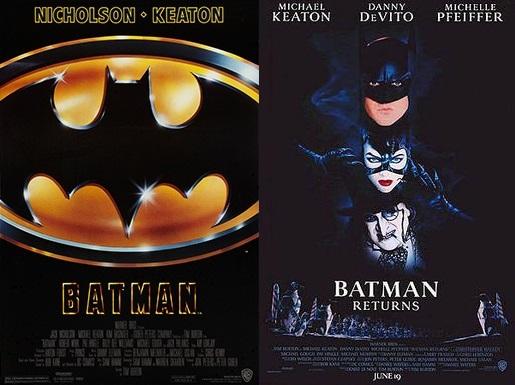 GUEST MOVIE REVIEWS:  Batman (1989), Batman Returns(1992)