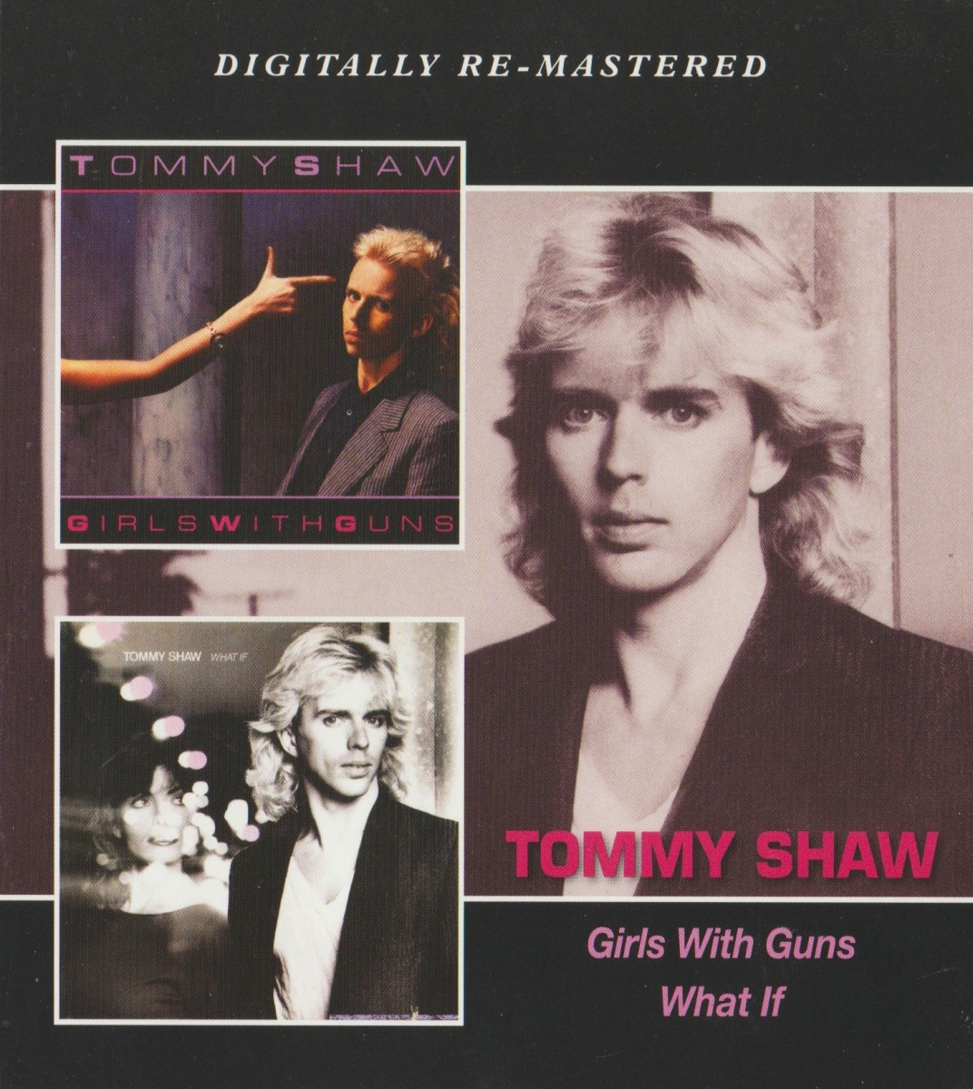 REVIEW:  Tommy Shaw - What If (1985)