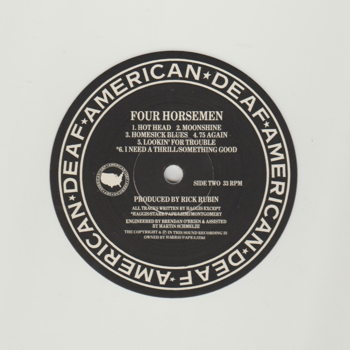 REVIEW:  The Four Horsemen - Nobody Said it Was Easy (2018 vinyl reissue)
