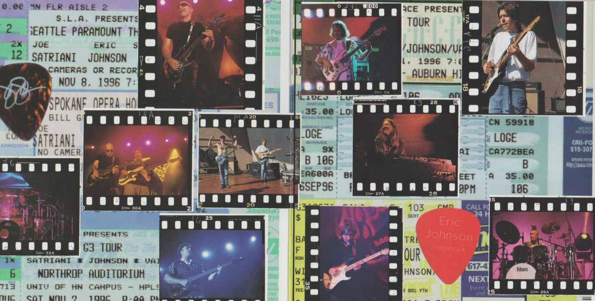 REVIEW:  Joe Satriani, Eric Johnson, Steve Vai - G3 Live in Concert (1997)